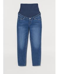 H&M Mama Mom Ankle Jeans - Blue