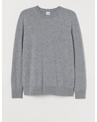 H&M Merino Wool Jumper - Grey