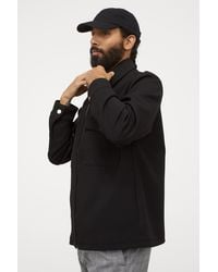 H&M Shirt Jacket - Black