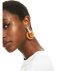 H&M Rhinestone-detail Earrings - Multicolor