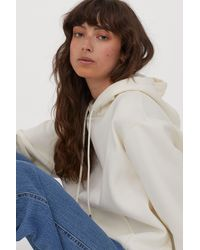 H&M Hooded Top - White