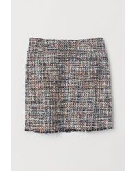 H&M - Jacquard-weave Skirt - Lyst