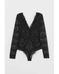 H&M Lace Body - Black