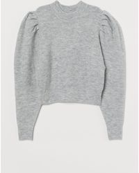 H&M Feinstrickpullover - Grau