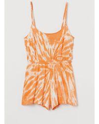 H&M Romper - Orange