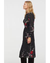 H&M - Patterned Dress - Lyst