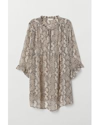 H&M Mama Airy Tunic - White