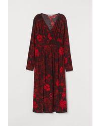 H&M Mama Crêpe Dress - Red