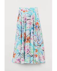 H&M Circular Skirt - Blue