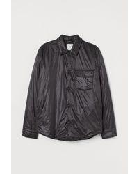 H&M Thermolite® Overhemdjack - Zwart