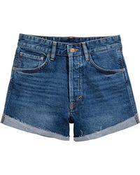 H&M Denim Short - Blauw