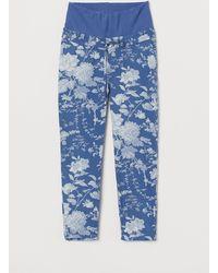 H&M MAMA Schlupfhose - Blau