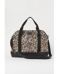 H&M Small Weekend Bag - Natural