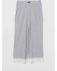 H&M - Pyjama Culottes - Lyst