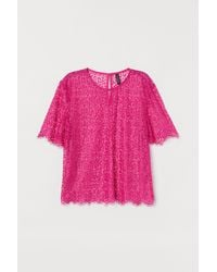 H&M Lace Top - Pink