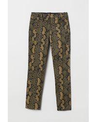 H&M Cigarette Trousers - Green