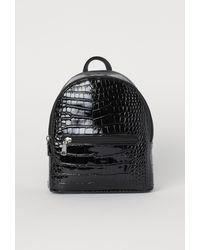 H&M Minirugzak - Zwart
