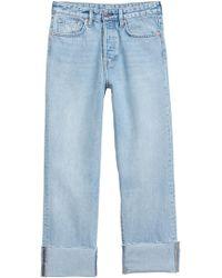 H&M Original Straight Jeans - Blau