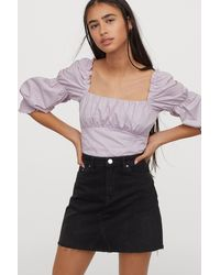 H&M Denim Skirt - Black