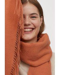 H&M Wool Scarf - Orange