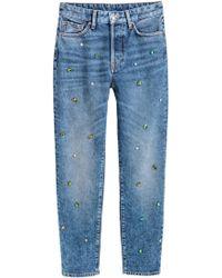 H&M Vintage High Jeans - Blue
