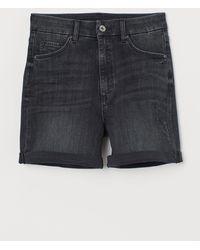 H&M Short en jean Embrace High - Noir
