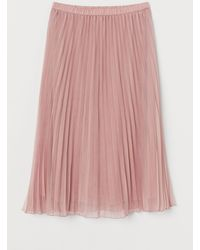 H&M Jupe plissée - Rose