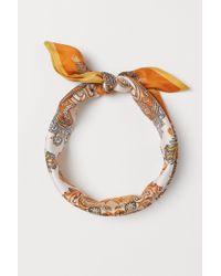H&M Foulard à motif - Orange