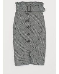 H&M Paper Bag Skirt - Black