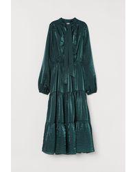 H&M Midi-jurk - Groen
