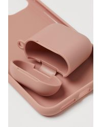 H&M Iphone Case And Airpods Case - Pink