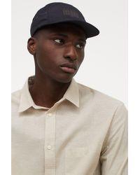 H&M Printed Cap - Black