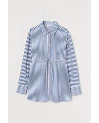 H&M Mama Cotton Shirt - White