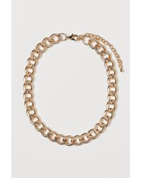 H&M Short Necklace - Metallic