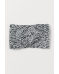 H&M Knitted Headband - Grey