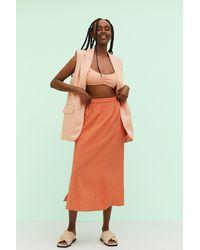 H&M Long Skirt - Orange