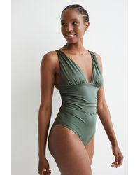 H&M Shaping Swimsuit - Green