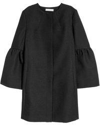 H&M Mantel mit weiten Ärmeln - Schwarz