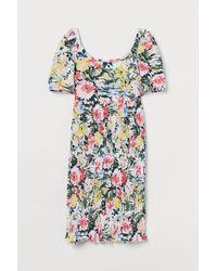 H&M Mama Smocked Dress - White