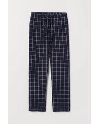 H&M Pyjama Bottoms - Blue