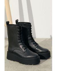 H&M Bottes à plateforme - Noir