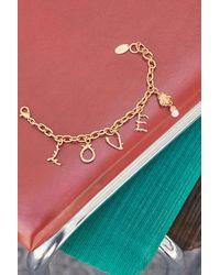 H&M Bracelet avec pendentifs - Métallisé
