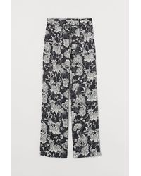 H&M Wide Pants - Black