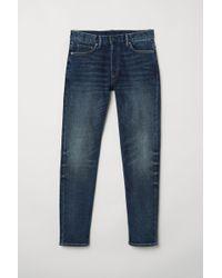 H&M Slim Jeans - Bleu
