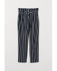 H&M Paper Bag Trousers - Blue