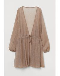 H&M Shimmering Beach Kaftan - Orange