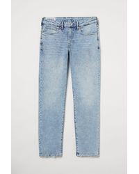 H&M Regular Jeans - Blau