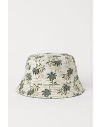 H&M Reversible Bucket Hat - Green