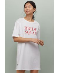 H&M Bridal Shower Nightgown - White