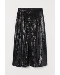 H&M Short ample - Noir